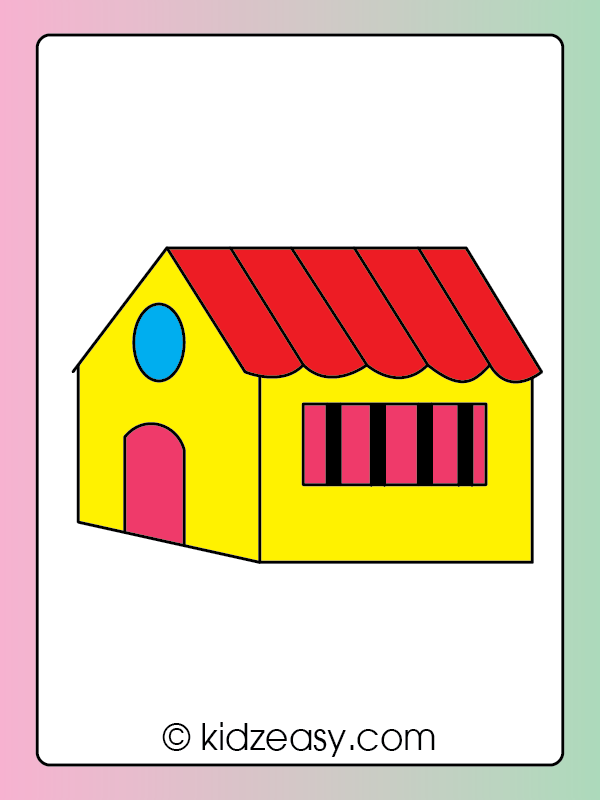 Step 10 How to draw a house