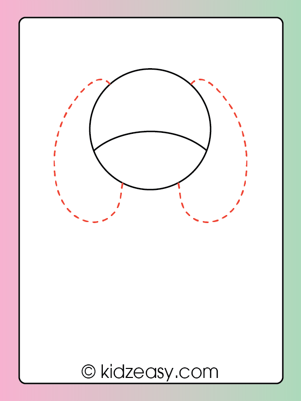 Step 2 Drawing Dog