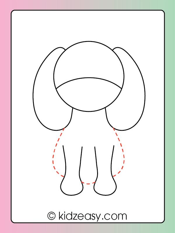 Step 4 Dog Drawing