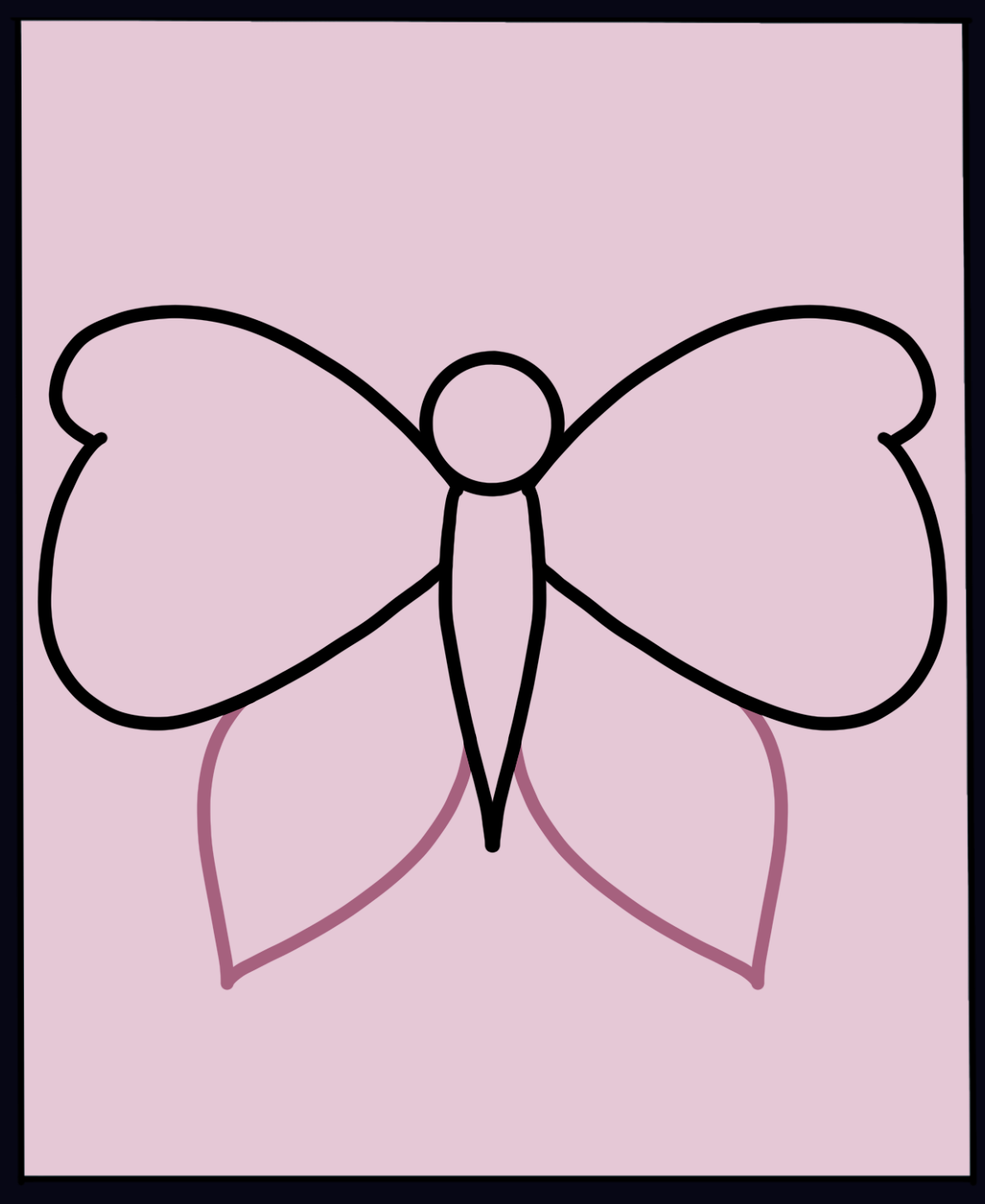 Butterfly Step 4